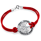 Silver Family Tree Bracelet