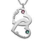 Heart in Heart Necklace - My Everlasting Love Collection