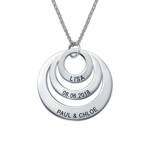 Jewelry for Moms - Three Disc Necklace - 2