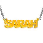 L.A. Style Color Name Necklace