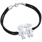 Silver Kids Holding Hands Charms Bracelet