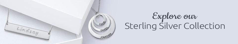 Sterling Silver Jewelry - Always Stylish!