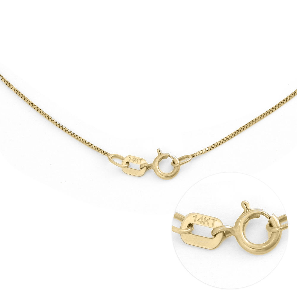 Infinity Name Necklace in 14K Yellow Gold - 5