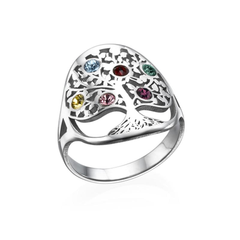 Family Tree Jewelry - Birthstone Ring - 1