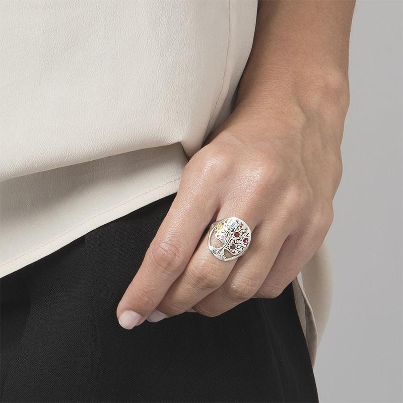 Family Tree Jewelry - Birthstone Ring - 2
