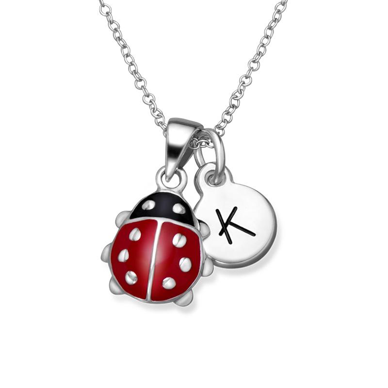Ladybug Necklace for Kids