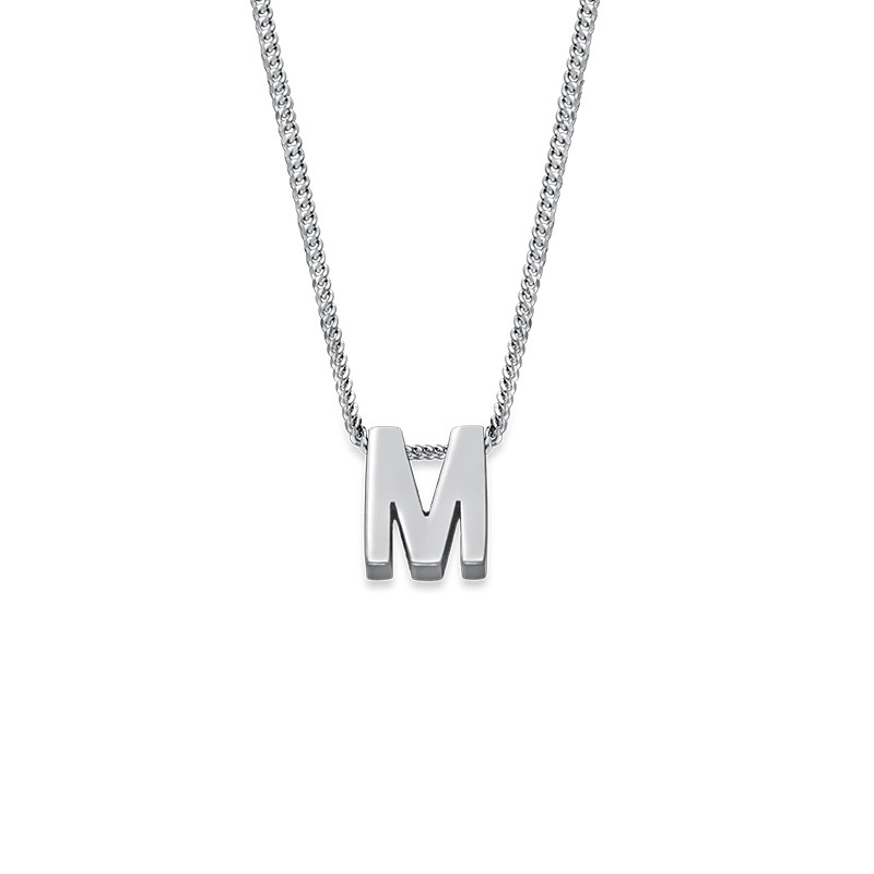 Personalized Couple Initial Necklace