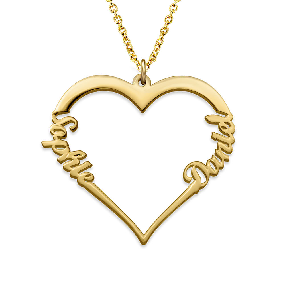 18k Gold Plated Heart Necklace