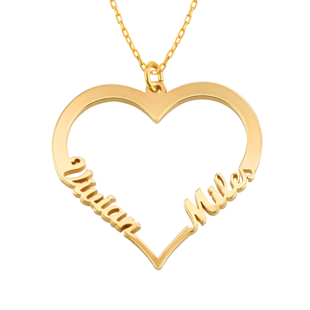 10k Gold Heart Necklace - 1