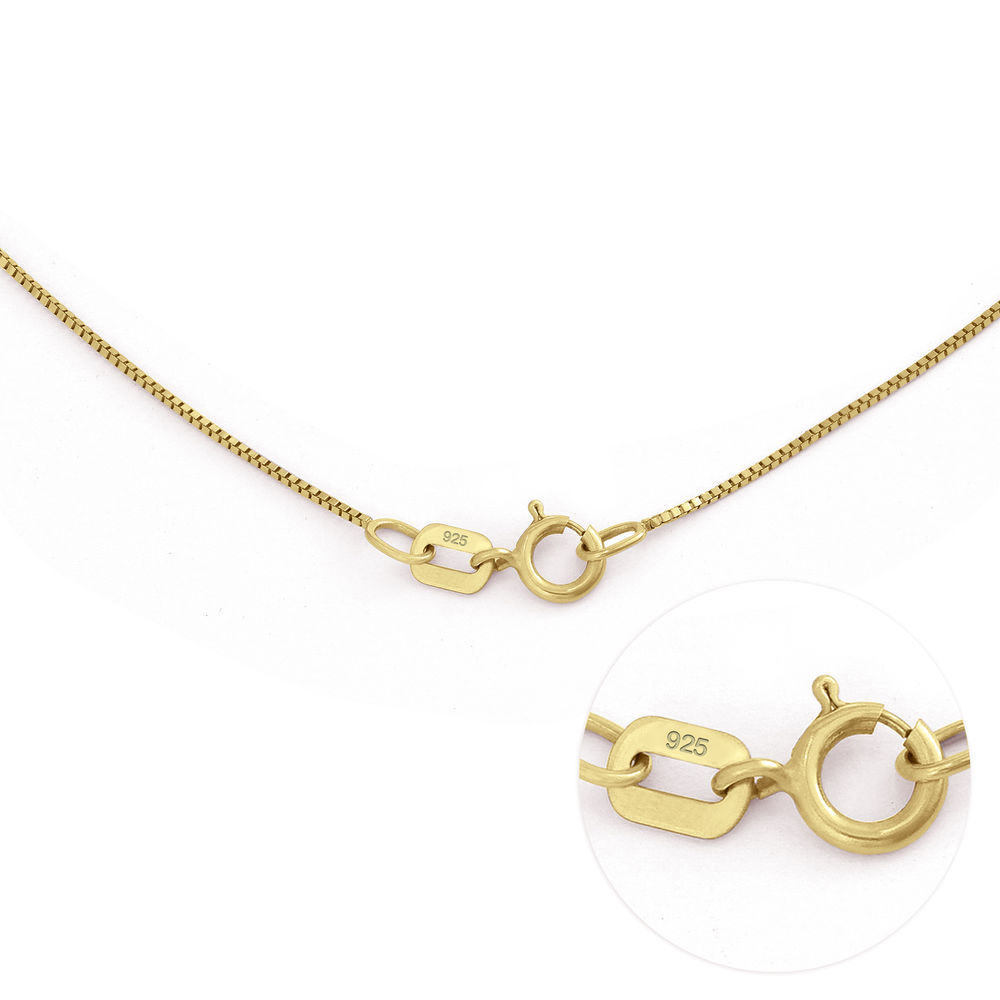 Russian Ring Necklace in Gold Plating - 5
