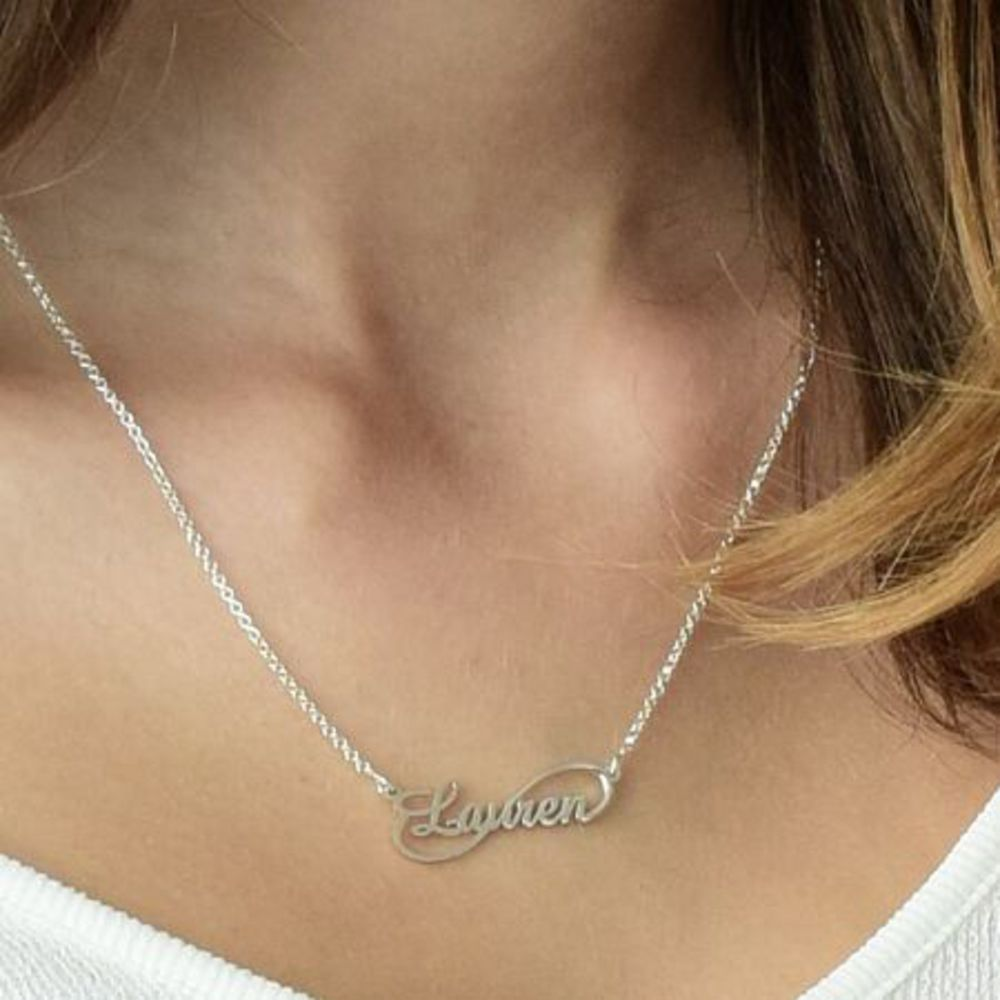 Infinity Style Name Necklace - 1
