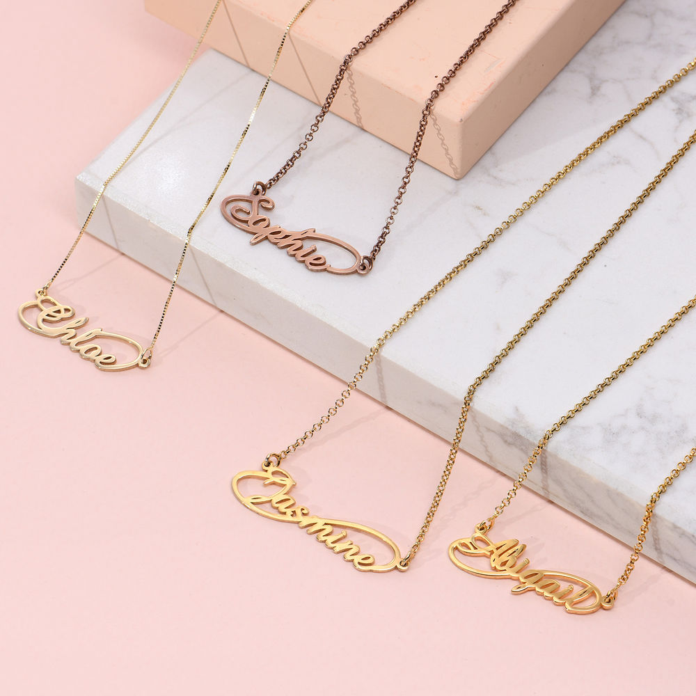 Infinity Style Name Necklace - 2