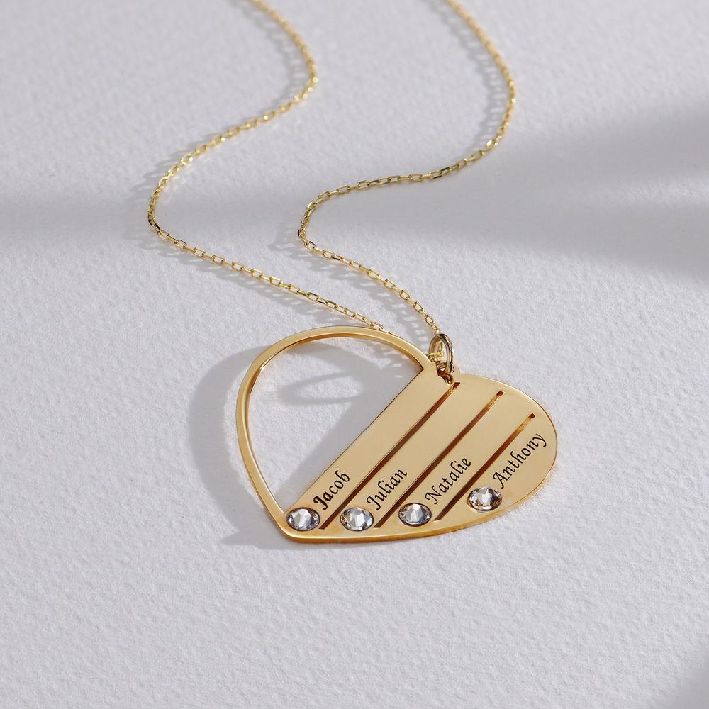 Mom Birthstone Necklace in Gold 10K - 1