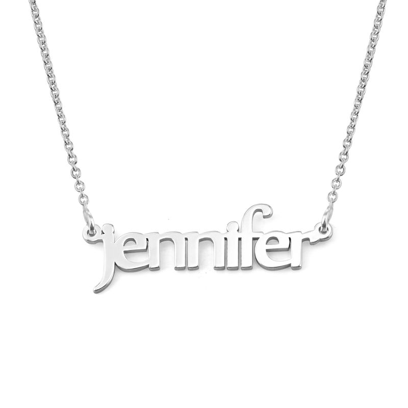 Personalize Name Necklace in Sterling Silver