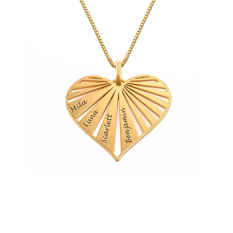 Family Necklace in 18k Gold Plating - Mini design