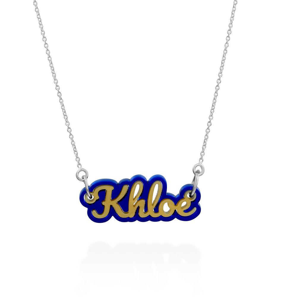 Retro Acrylic Name Necklace - 2