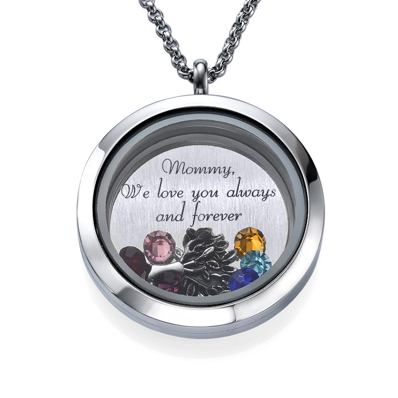 We Are Family  Floating Locket