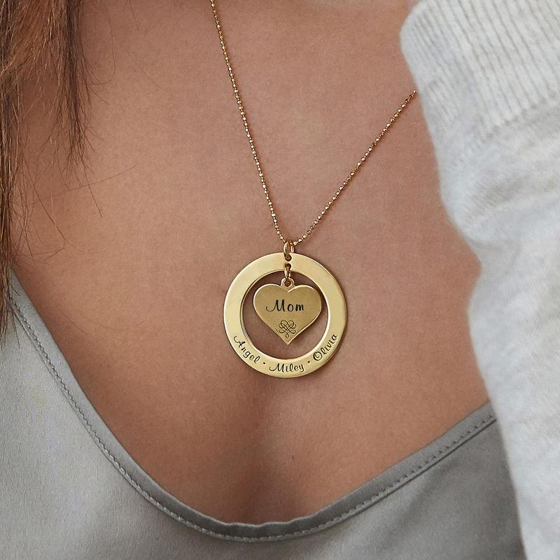 10K Gold Grandmother Necklace - 3