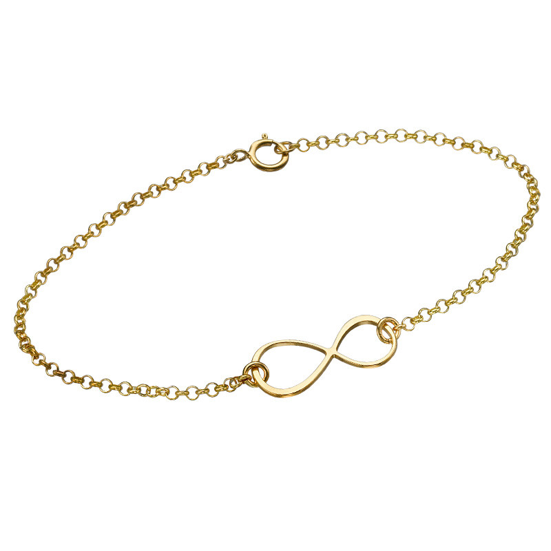 Gold Plated Eternity Bracelet