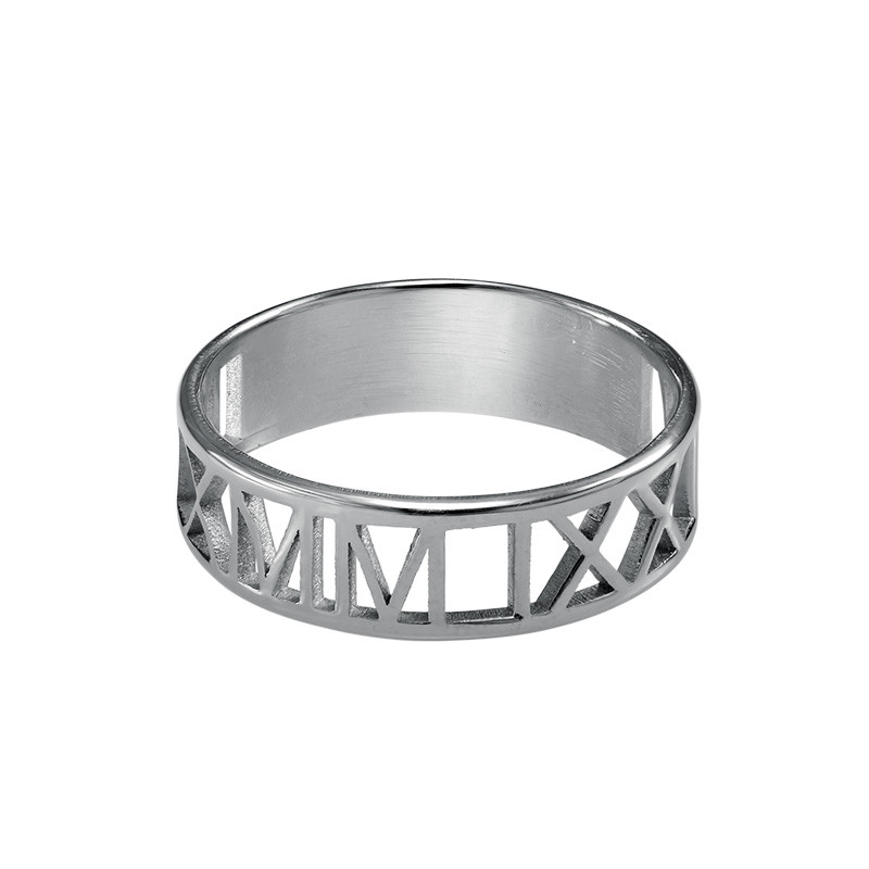 Roman Numeral Ring - 1
