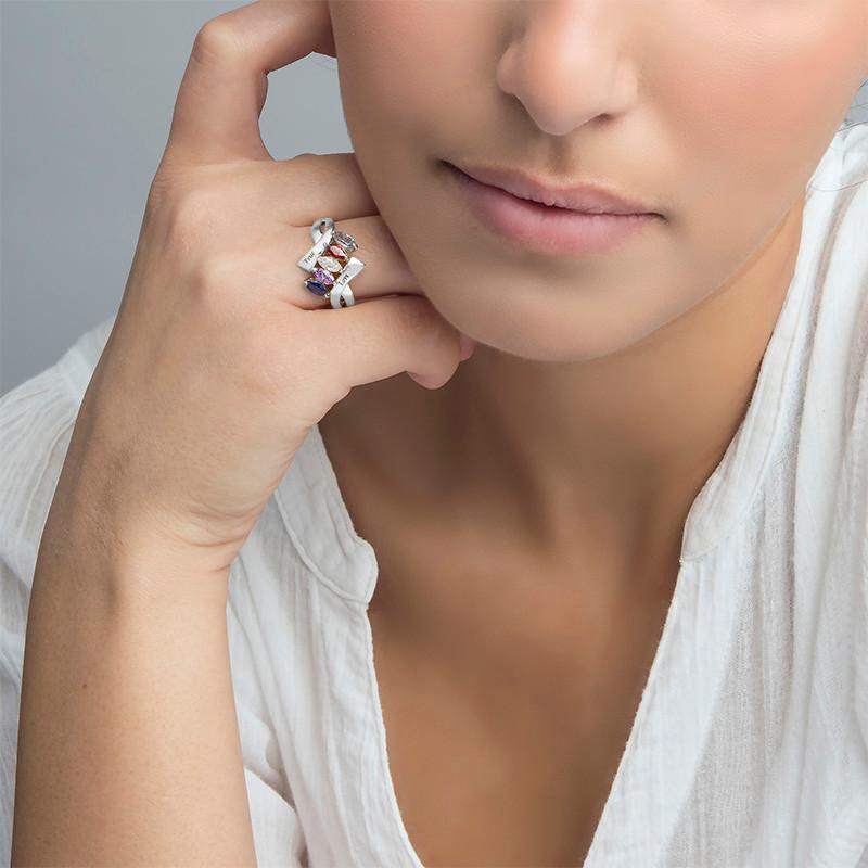 Birthstone Ring for Mom - 2