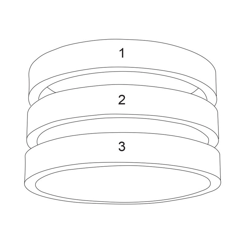 Three Name Ring in Sterling Silver - 5