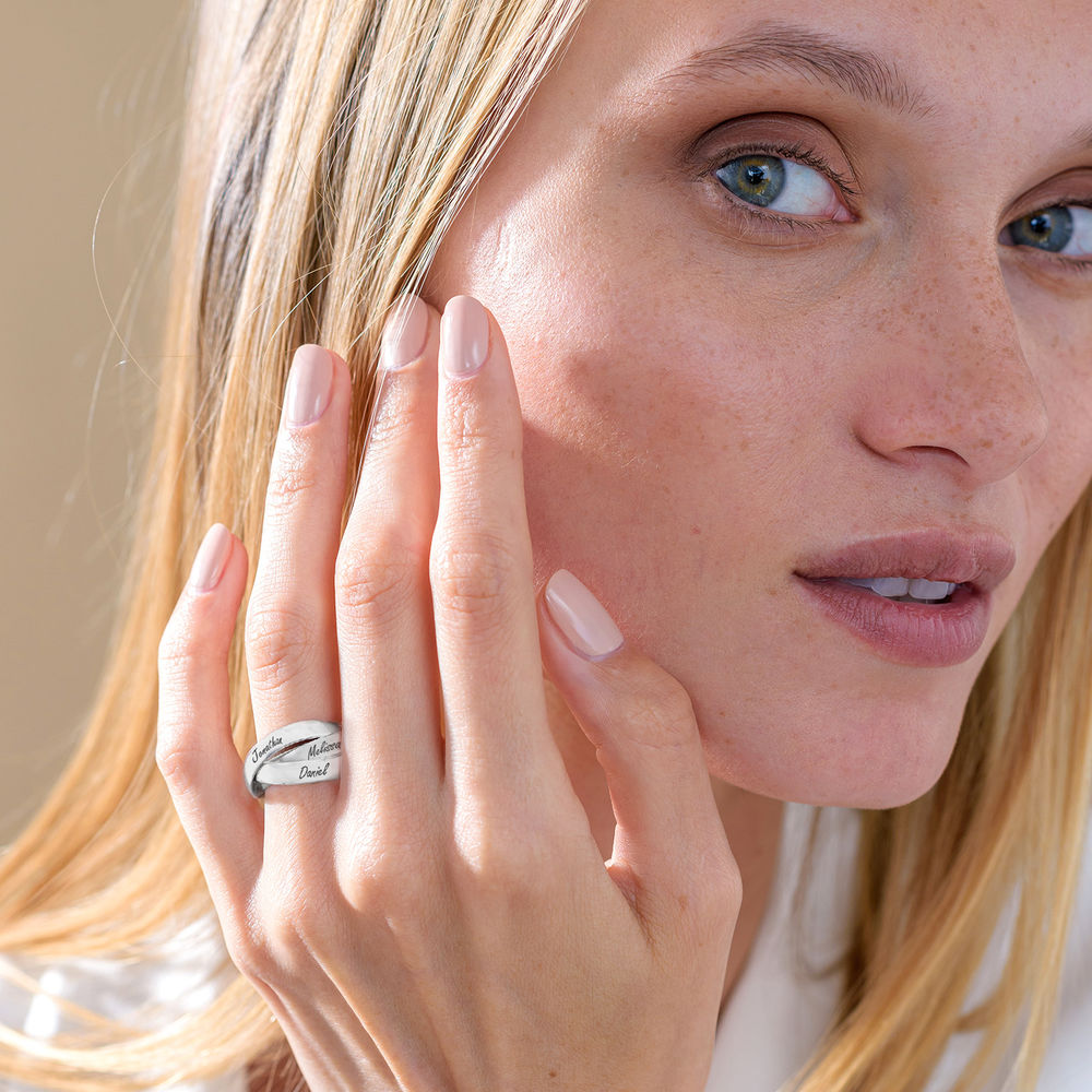 Charlize Russian Ring in Sterling Silver - 3