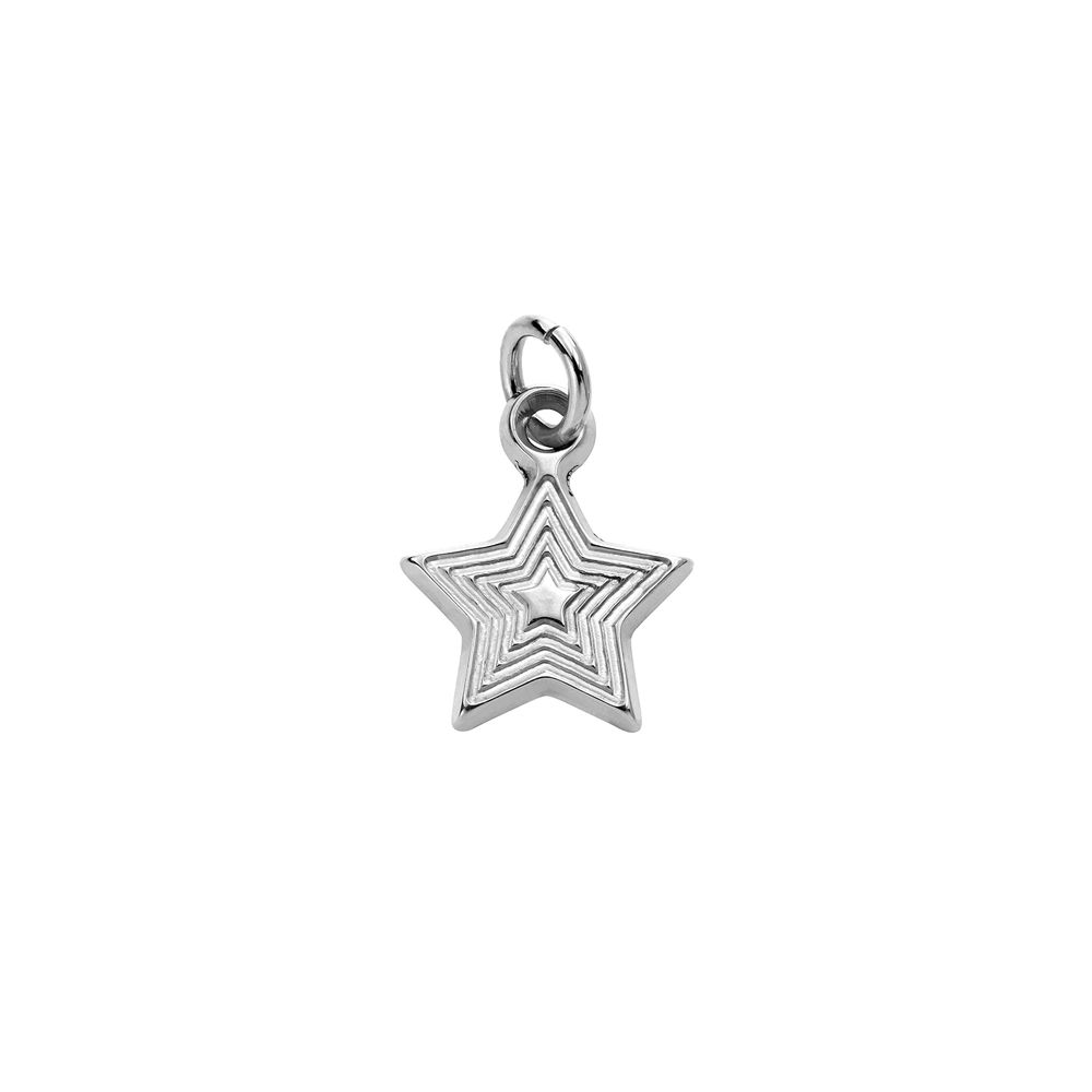Star Charm in Sterling Silver for Linda Necklace
