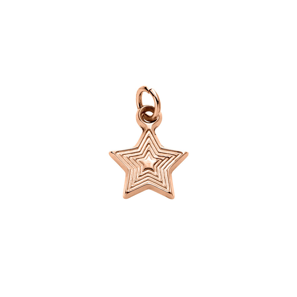 Star Charm in Rose Gold Plating for Linda Necklace