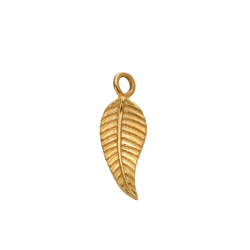 Extra Leaf Charm in Gold Plating for Linda Necklace