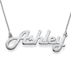 Stylish Silver Name Necklace product photo