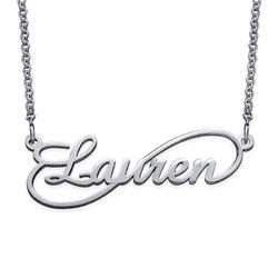 Infinity Style Name Necklace product photo