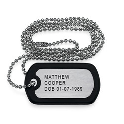 Stainless Steel Personalized Dog Tag product photo
