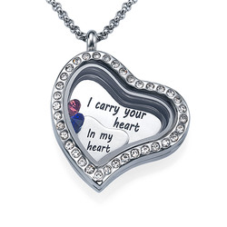 I Carry Your Heart Floating Locket product photo