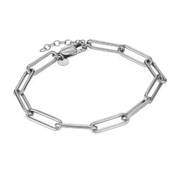 Chain Link Bracelet in Sterling Silver product photo