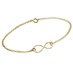 Gold Plated Eternity Bracelet product photo