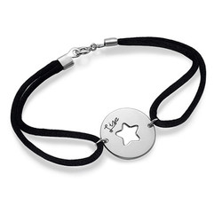 Cut Out Star Bracelet in Sterling Silver product photo