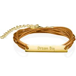 Inspirational Jewelry - Dream Big Bar Bracelet product photo