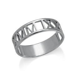 Roman Numeral Ring product photo
