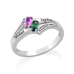 Personalized Birthstone Ring product photo