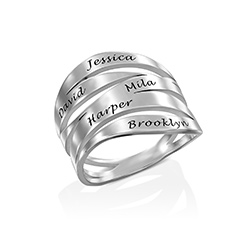 Custom silver Name Ring-Personalized name ring-Best gift,Bridemaids ring