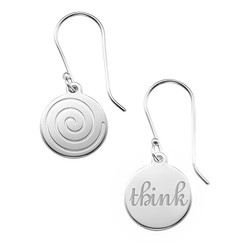 Asymmetric Earrings in Sterling Silver product photo
