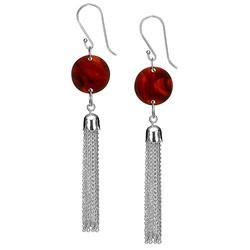 Acrylic Tassel Earrings product photo