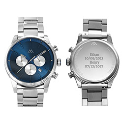 Quest Chronograph Stainless Steel Watch for Men product photo