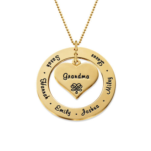 10K Gold Grandmother Necklace