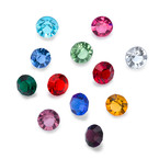 4mm Birthstones for Floating Lockets