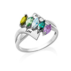 Birthstone Ring for Mom