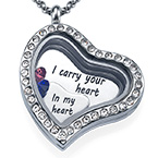 I Carry Your Heart Floating Locket