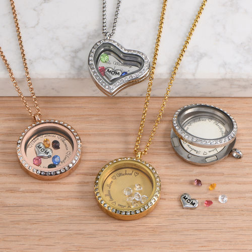 etched lockets engraved silver product border inset hand sterling