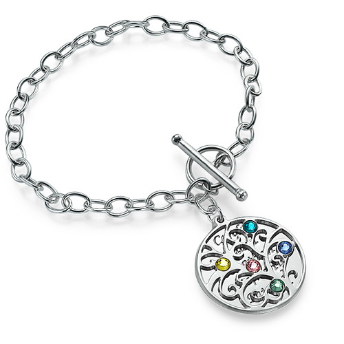 Filigree Tree of Life Bracelet - 1